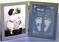 出産祝い用手型足型